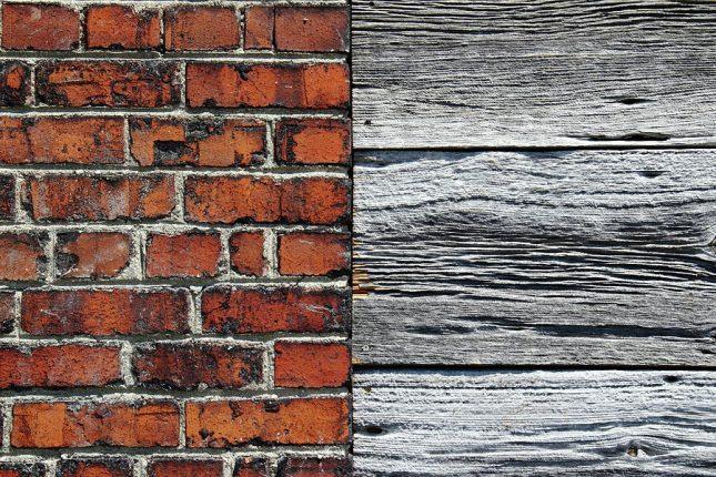 lemn versus caramida